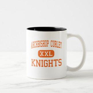 Curley -騎士大主教-高マイアミフロリダ ツートーンマグカップ