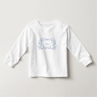 Curlieの手掛りフレーム トドラーTシャツ