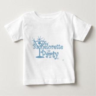 CurlMartiBachettePliteblue ベビーTシャツ