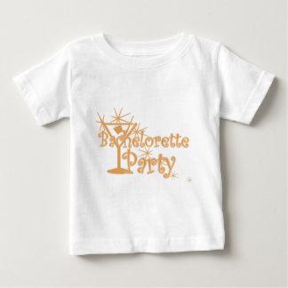 CurlMartiBachettePorange ベビーTシャツ