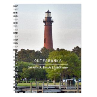 Currituckのビーチライト ノートブック