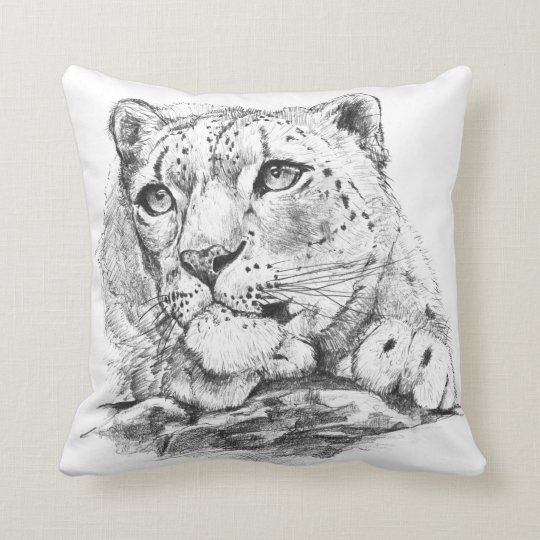cushion[snowleopard] クッション