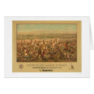 Custerの最後の戦い(2610A) カード