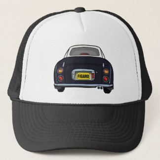 Custom Black Nissan Figaro Trucker Cap キャップ