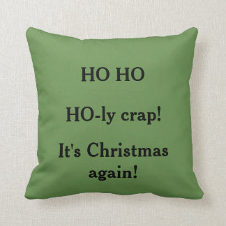 Custom Double Sided Christmas Pillow クッション