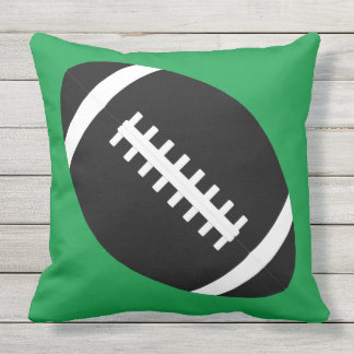 Custom Football Team Color Outdoor Pillow Cushion アウトドアクッション