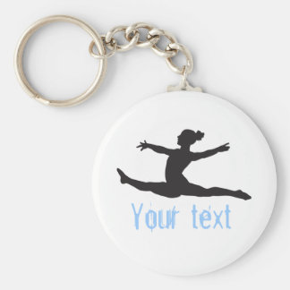 Custom Gymnastics Dance Cheer Keychains キーホルダー
