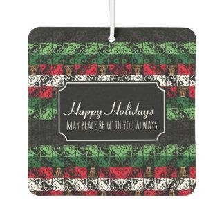 Custom Holidays Ugly Sweater Car Air Freshener カーエアーフレッシュナー