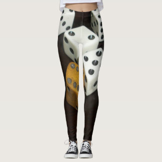 custom leggings w/dice レギンス