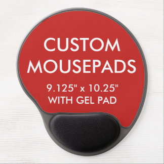 Custom Personalized Gel Mouse Pad Blank Template ジェルマウスパッド