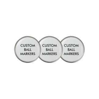 Custom Personalized Golf Ball Markers Blank ゴルフボールマーカー