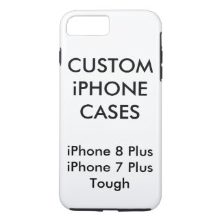 Custom Personalized iPhone 8 Plus Tough Shell Case iPhone 8 Plus/7 Plusケース