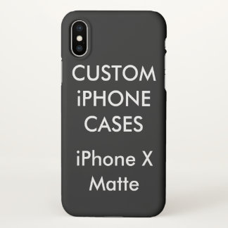 Custom Personalized iPhone X Case Blank Template iPhone X ケース