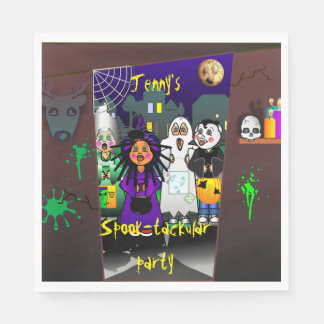 Custom Spook-tackular Halloween Party スタンダードランチョンナプキン