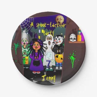 Custom Spook-tackular Party ペーパープレート