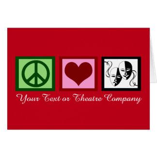 Custom Theatre Companyの戯曲クラブクリスマス グリーティングカード