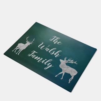 Customizable Deer Welcome Mat ドアマット