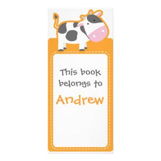 Customized*Cowは本をしおり ラックカード
