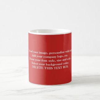Customized Mugs Add Photos and Text コーヒーマグカップ