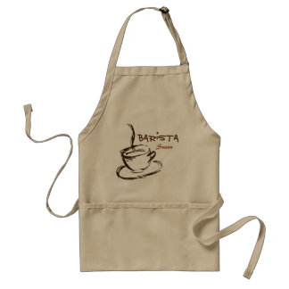 Customized Professional Barista Apron スタンダードエプロン