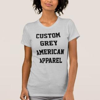 CustomPersonalizedレディース銀の丸首のTシャツ Tシャツ
