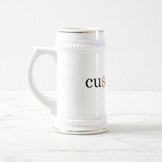 Custy Noobの生産ビールステイン ビールジョッキ