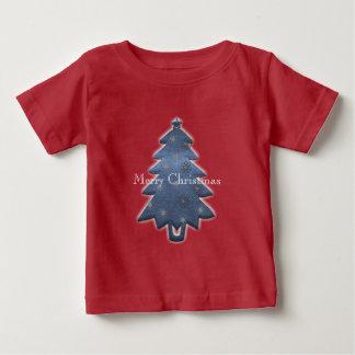 Cute Bright Merry Christmas T-shirt ベビーTシャツ