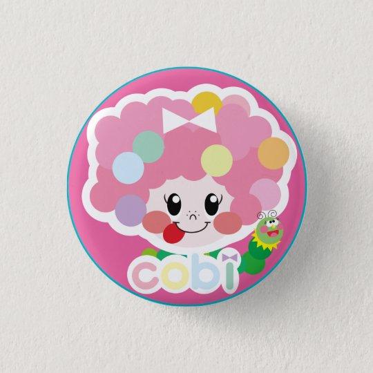 cute cobi-chan's 缶バッヂ♡ 3.2cm 丸型バッジ
