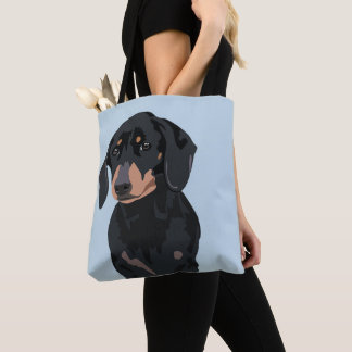 Cute Dachshund | Pet Sausage dog トートバッグ