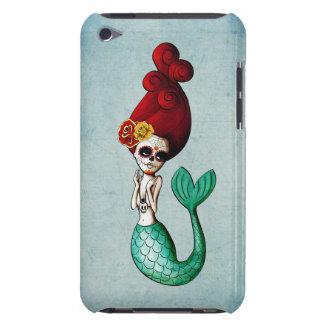 cute Dia de Los Muertos Mermaid女の子 Case-Mate iPod Touch ケース