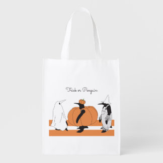 Cute Funny Penguin Animal Halloween Personalized エコバッグ