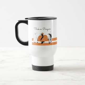 Cute Funny Penguin Animal Halloween Personalized トラベルマグ