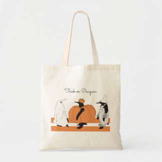 Cute Funny Penguin Animal Halloween Personalized トートバッグ
