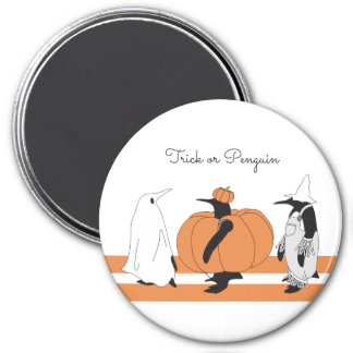Cute Funny Penguin Animal Halloween Personalized マグネット