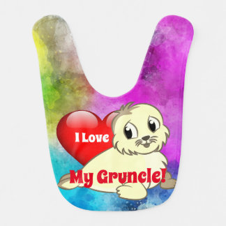 "Cute ""I Love My Gruncle!"" with Baby Seal ベビービブ"
