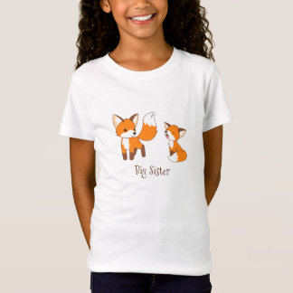 Cute Little Foxes - Big Sister Tシャツ