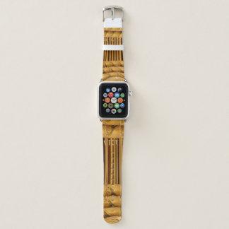 Cute Lovely African Giraffe Abstract Art Design Apple Watchバンド