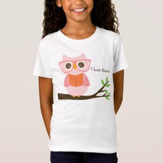 Cute Owl Reading Tシャツ