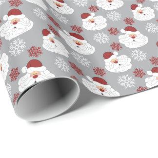Cute Santa Claus Holiday Seasonal Wrapping Papper ラッピングペーパー