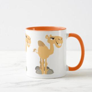 Cute Smiling Cartoon Camel マグカップ