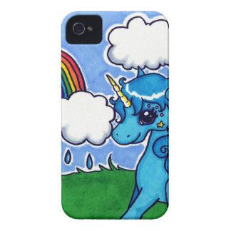 Cutesyユニコーンおよび虹 Case-Mate iPhone 4 ケース
