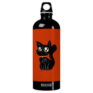Cutesy黒い子猫 ウォーターボトル