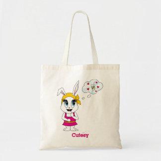 Cutesy Bunny™のトートバック トートバッグ
