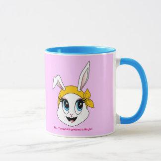 Cutesy Bunny™の信号器のマグ マグカップ