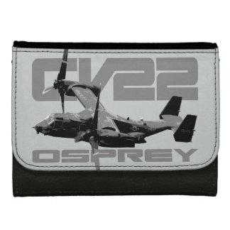 CV-22ミサゴの中型の革財布