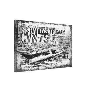 CVN-75ハリー・S・トルーマンのキャンバスプリント キャンバスプリント