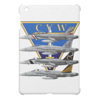 CVW-2キャリアの翼f-18のスズメバチのiPadの場合 iPad Mini Case