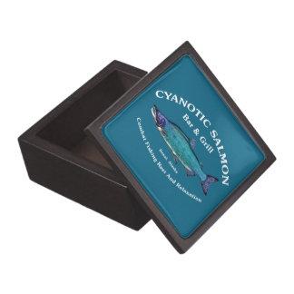 Cyanoticサケのバー及びグリル ギフトボックス