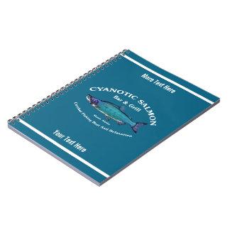 Cyanoticサケのバー及びグリル ノートブック