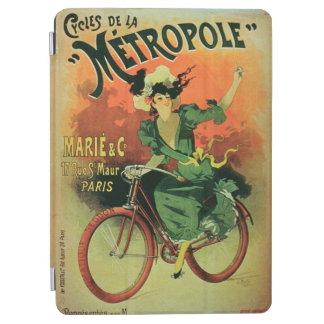 「Cycles de La Metropole」、Marie及びCo. (色のlith iPad Air カバー
